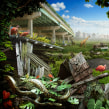Sanctuary. Un projet de Beaux Arts, Collage , et Photographie numérique de Nick Pedersen - 01.04.2020