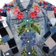 Patched Garden . Um projeto de Design, Moda, Artes plásticas, Design de moda, Bordado e Ilustração têxtil de Ana María Restrepo - 04.04.2020