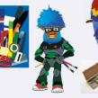 Collected Illustration. Un proyecto de Ilustración, Collage, Dibujo y Diseño de personajes 3D de Jamie Sanchez Hearn - 01.01.2015