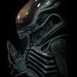 Alien Xenomorph rezando. A 3D, Sculpture, Film, and 3d modeling project by Juan Novelletto - 04.13.2020