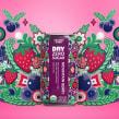 Dry Soda. Um projeto de Ilustração, Ilustração vetorial e Ilustração digital de Catalina Estrada Uribe - 17.04.2018