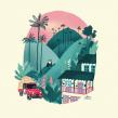 Salento. Un proyecto de Ilustración digital de Alinailustra - 17.12.2019