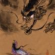 Dragões. Um projeto de Desenho artístico e Brush painting de Mika Takahashi - 24.04.2020