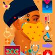 Essential Workers Series. Un projet de Illustration numérique de Samuel Rodriguez - 28.04.2020