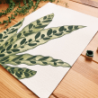 Botánica Minimalista. Un progetto di Illustrazione, Pittura ad acquerello e Illustrazione botanica di Isabela Quintes - 30.04.2020