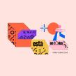 Adobe Creative Cloud® · Graphic Universe. Un progetto di Design, Illustrazione, Br, ing e identità di marca, Character Design , e Tipografia di Nubia Navarro (nubikini) - 11.08.2019