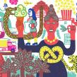 Chocolate post . Un proyecto de Ilustración de Pau Masiques - 16.05.2020