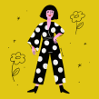 Yellow Fellow. Um projeto de Ilustração de retrato e Ilustração digital de Sara Tomate - 16.05.2020