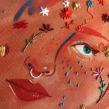 Doodles bordados. Un projet de Illustration, Artisanat, Dessin, Illustration numérique, Illustration de portrait, Broderie, Dessin de portrait , et Dessin numérique de Yamila Yjilioff - 23.05.2020