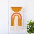 Tapiz Noon. A Design, Textile illustration, Decoration, and Fiber Arts project by Flor Samoilenco - 02.01.2020