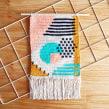 Tapiz Shapes. Un projet de Design , Illustration textile, Décoration d'intérieur , et Tissage de Flor Samoilenco - 01.04.2019