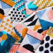 Diseños 2019-2020. Un projet de Design , Illustration textile, Décoration d'intérieur , et Tissage de Flor Samoilenco - 01.01.2019
