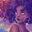 Curly Universe. Um projeto de Design digital de Natália Dias - 15.06.2020