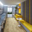 SketchUp e V-Ray - Lavanderia. Un projet de 3D, Architecture d'intérieur, Design d'intérieur , et Modélisation 3D de Guilherme Coblinski Tavares - 18.06.2019