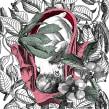 Del enebro. Un progetto di Illustrazione, Character Design, Collage , e Ritocco fotografico di Alejandra Acosta - 19.12.2019