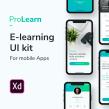 ProLearn E-learning UI Kit. A Design, UI / UX, Interaktives Design, Produktdesign, Webdesign, Mobile Design, Digitales Design und App-Design project by Francisco Aguilera G. - 23.06.2019