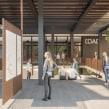 Imágenes 3D para concurso del COAC, Barcelona. Marta García + Àngela G. Casas.. Un projet de Design , 3D, Architecture , et Conception 3D de María Alarcón - 10.09.2019