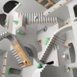 Escher Relatividad. Un progetto di Illustrazione, 3D, Direzione artistica , e Design industriale di Francisco Cortés - 17.08.2018