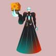 Pinhead. Un progetto di Illustrazione, Cinema, video e TV, Character Design, Illustrazione vettoriale e Illustrazione digitale di Nathan Jurevicius - 20.07.2020