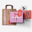 Kuose | GIRL'S CLOTHING BRAND. Un projet de Design , Illustration, Br, ing et identité, Design graphique, Illustration vectorielle , et Création de logo de Gilian Gomes - 19.07.2020