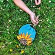 Girasoles de verano. Un proyecto de Bordado de Señorita Lylo - 22.07.2020