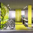 SketchUp e V-Ray - Bicicletário. A 3-D, Architektur, Innenarchitektur, Innendesign und 3-D-Modellierung project by Guilherme Coblinski Tavares - 16.06.2019