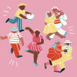 Dança- Sorria 73. Un proyecto de Ilustración e Ilustración digital de Giovana Medeiros - 27.07.2020