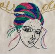 Bordados em parceria. Un proyecto de Bordado e Ilustración textil de Andrea Orue - 28.07.2018