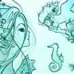 Mermay . Un progetto di Illustrazione , e Disegno digitale di Kaos - 05.06.2018
