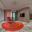 SketchUp e V-Ray - Apartamento - alternativas de piso, tapete e poltrona. A Design, 3-D, Architektur, Innenarchitektur, Innendesign, 3-D-Modellierung und 3-D-Design project by Guilherme Coblinski Tavares - 04.01.2020