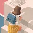 Annie Ernaux Book Covers. Um projeto de Ilustração, Design editorial e Ilustração digital de Laura Wächter - 05.08.2020