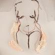 Desnudo sobre tul. Um projeto de Bordado de Koral Antolín Maillo - 05.08.2020