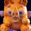 Toshin en la luna / Audrey Huertas & Mr.Mitote. Un proyecto de Escultura y Diseño de juguetes de Mitote Rodela - 07.08.2020