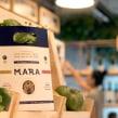 Mara Biomarket & Café. Un progetto di Br, ing e identità di marca, Graphic Design , e Packaging di FIBRA - 10.08.2016