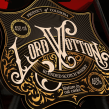Wordmark Design   Lord Wotton Whisky. A Graphic Design, Lettering, 3d modeling, and Digital Lettering project by Ana Moreno - 05.14.2020