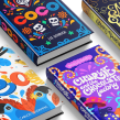 Lettering+ Illustration   Book set. A Illustration, Editorial Design, Lettering, and Digital Lettering project by Ana Moreno - 12.18.2019
