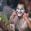"""""""Put on a happy face"""" - Joker. Un proyecto de Ilustración, Dibujo, Pintura a la acuarela, Ilustración de retrato, Dibujo de Retrato, Dibujo realista y Dibujo artístico de Carlos Rodríguez Casado - 19.08.2020"""