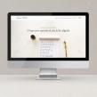 Lourdes Peralta Caligrafía. Un proyecto de Br, ing e Identidad y Diseño Web de Mónica Durán · Visual Bloom - 01.07.2020
