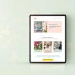 Brain Baby | Hogar educativo. Un projet de Web Design de Mónica Durán · Visual Bloom - 25.08.2020