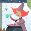 ¡Hola septiembre! . Un projet de Illustration, Collage et Illustration jeunesse de Estrellita Caracol - 02.09.2020