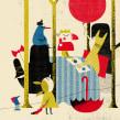 Editorial: digital collage. Un projet de Illustration, Collage, Illustration de portrait et Illustration jeunesse de Catarina Sobral - 30.12.2016