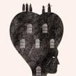 Ilustraciones Libro La Casa de Bernarda Alba. Um projeto de Ilustração de Manuel Vargas - 09.09.2020