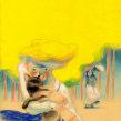 Viaje al pueblo de las treinta señoritas. Un proyecto de Ilustración, Dibujo a lápiz e Ilustración infantil de Daniel Torrent Riba - 11.12.2019