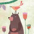 Tres osos. Un projet de Illustration, Character Design, Collage et Illustration jeunesse de Estrellita Caracol - 11.09.2020