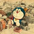 Lonely in Tokyo. Un progetto di Illustrazione di Óscar Lloréns - 14.09.2020