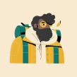 Stories from home. Un proyecto de Ilustración, Diseño de personajes e Ilustración de retrato de Itsacat&Goodog - 20.09.2020
