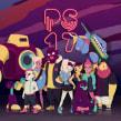 Pixel Show 2017. Un proyecto de Ilustración, Diseño de personajes e Ilustración vectorial de Marmota vs Milky - 20.09.2020