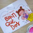 LIVRO • A menina que construía brinquedos. Um projeto de Ilustração, Ilustração infantil e Ilustração editorial de Juliana Rabelo - 02.10.2020