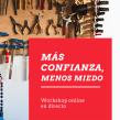 Más confianza, menos miedo - workshop en directo. Un proyecto de Educación de Mònica Rodríguez Limia - 05.10.2020
