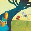 Fábulas - Alice no País das Maravilhas (Editora: Folha de São Paulo) . A Zeichnung, Digitale Illustration, Kinderillustration, Digitale Zeichnung, Illustration mit Tinte, Erzählung und Editorial Illustration project by Weberson Santiago - 11.10.2020